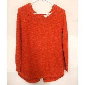 Sparrow by Anthropolie Orange Sweater